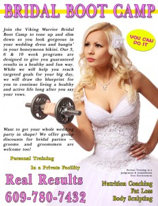 Bridal Boot Camp in Galloway Twp NJ near Atlantic City